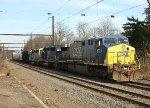 CSX 612, HLCX 7171, CSX 6160 on Q439